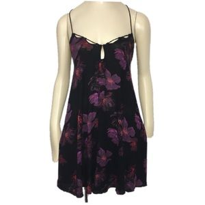 Out from under Michelle Dobby  floral mini dress